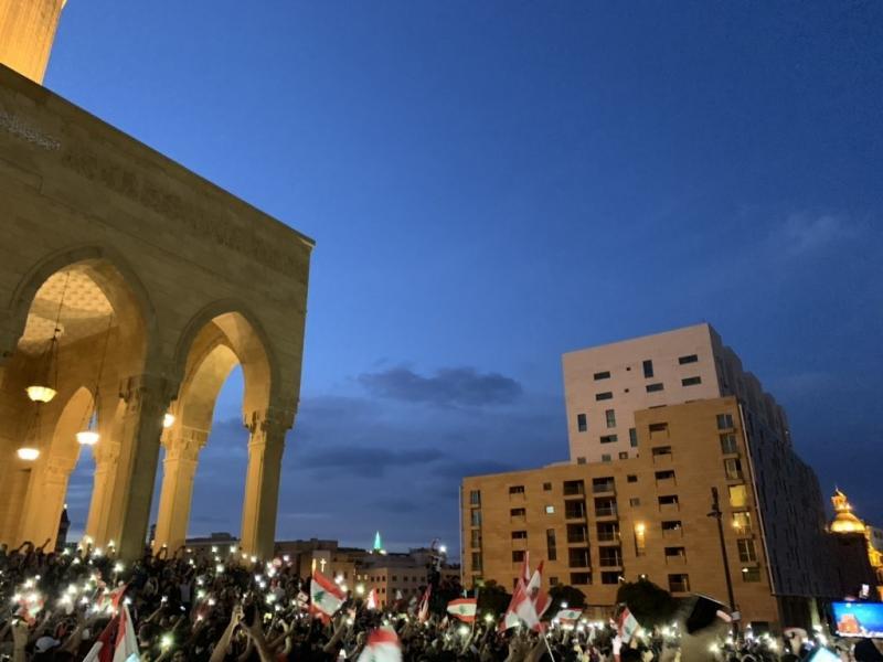 صور من مظاهرات #لبنان #لبنان_ينتفض - صورة 14