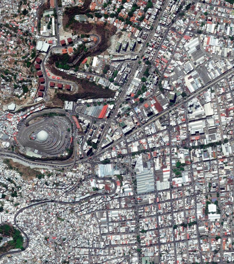 Amazing #Satellite Photos from the #World - Caracas, #Venezuela - Image 45