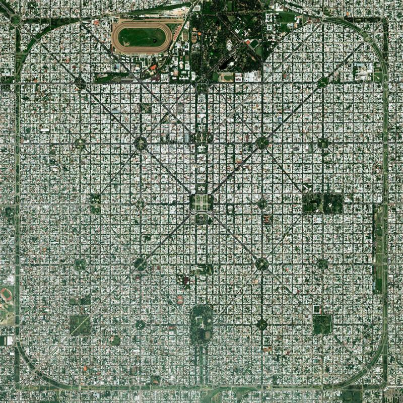 Amazing #Satellite Photos from the #World - La Plata, #Buenos_Aires , #Argentina - Image 55
