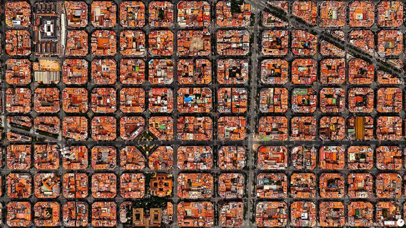 Amazing #Satellite Photos from the #World #Barcelona , #Spain - Image 75