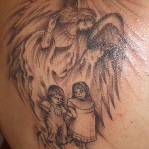 تصاميم #وشوم #وشم #Tattoos على صور ملائكة #فن #ماكياج #بنات - صورة 39