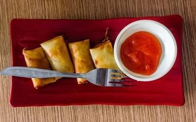 Lumpia #SpringRoll #Philippines Famous #Food