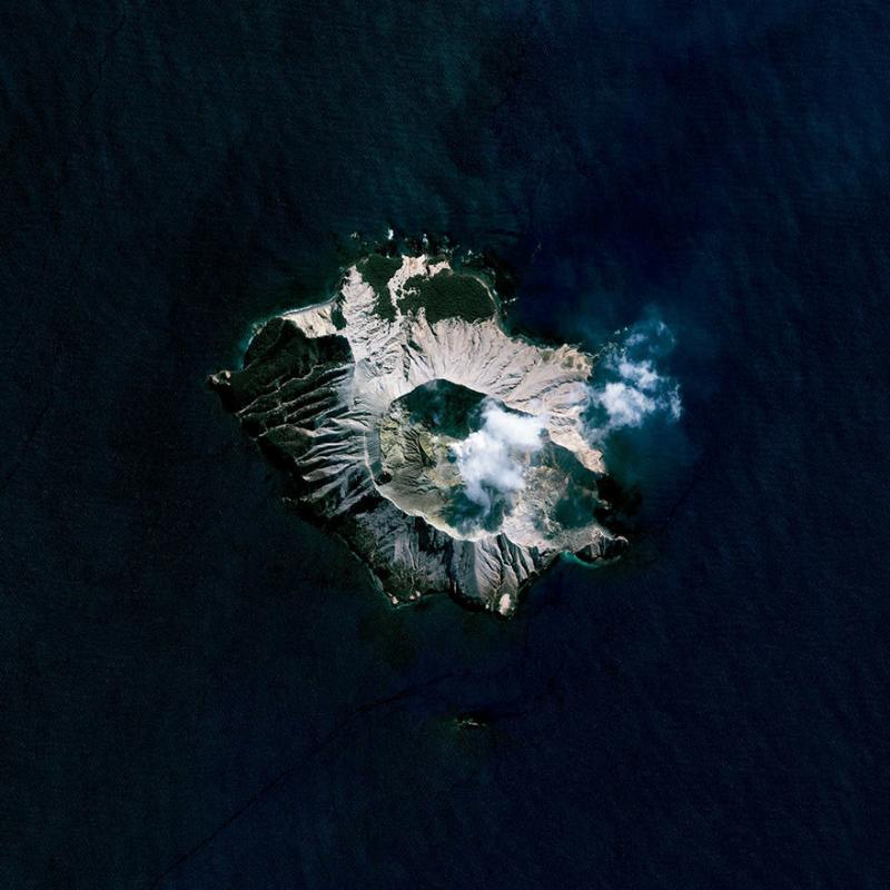 Amazing #Satellite Photos from the #World - White Island, Bay Of Plenty, #NewZealand - Image 56
