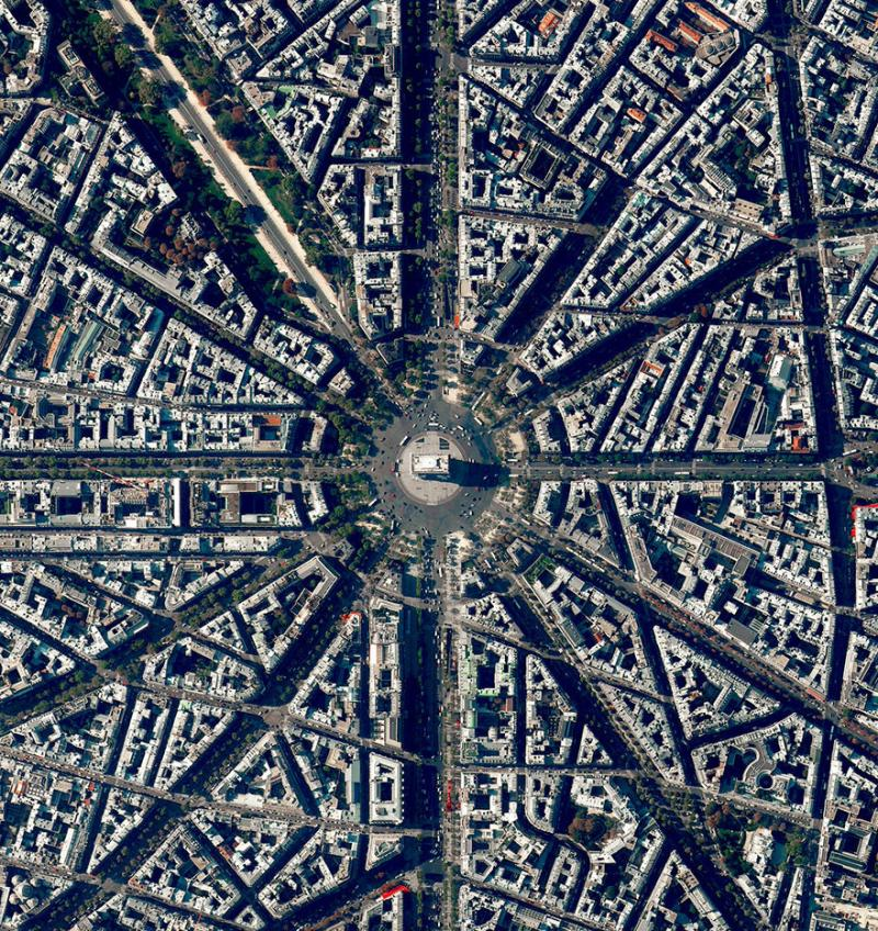 Amazing #Satellite Photos from the #World - Bastille Day, #Paris , #France - Image 76
