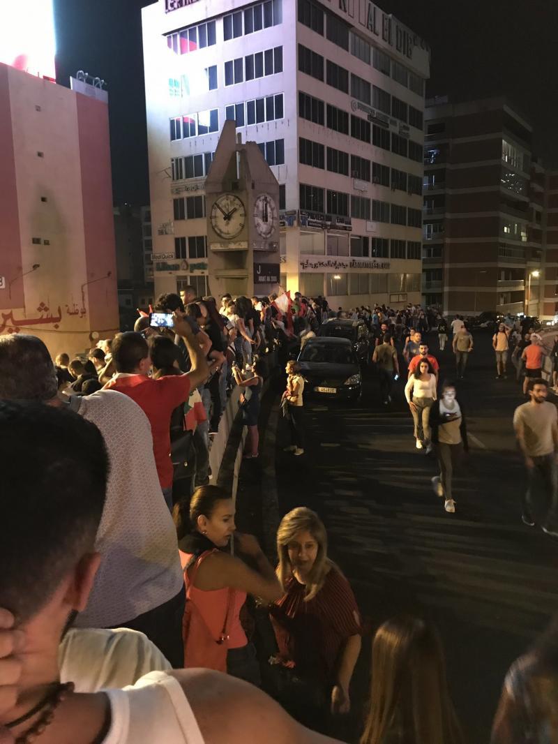 صور من مظاهرات #لبنان #لبنان_ينتفض - صورة 6