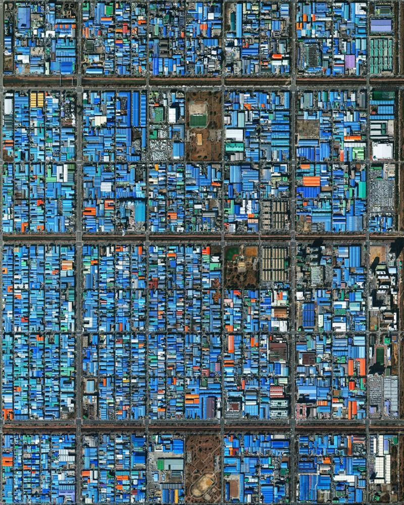 Amazing #Satellite Photos from the #World - Jeongwang-Dong, Ansan, #South #Korea - Image 18