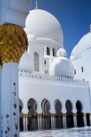 صور #مسجد #الشيخ_زايد في #أبوظبي #الإمارات - صورة 10