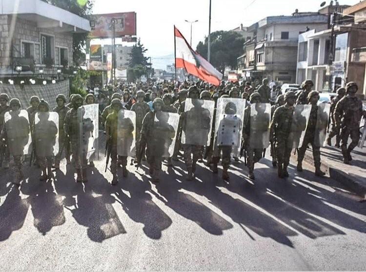 صور من مظاهرات #لبنان #لبنان_ينتفض - صورة 24