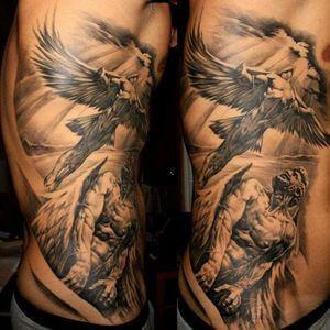 تصاميم #وشوم #وشم #Tattoos على صور ملائكة #فن #ماكياج #بنات - صورة 1