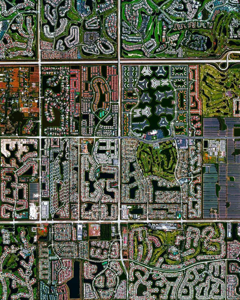 Amazing #Satellite Photos from the #World Boca Raton, #Florida , #United_States - Image 85