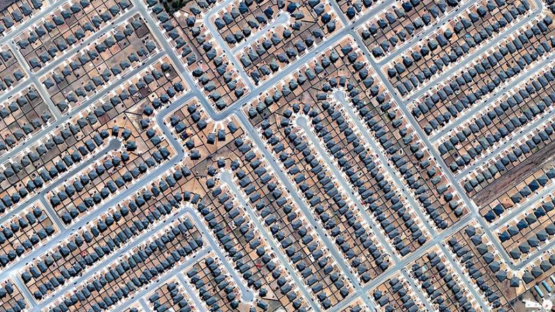 Amazing #Satellite Photos from the #World - Residential Development, Killeen, #Texas , #United_States - Image 22