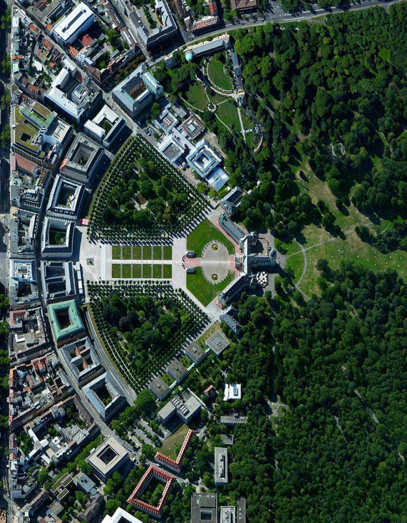 Amazing #Satellite Photos from the #World - Karlsruhe, #Germany - Image 42