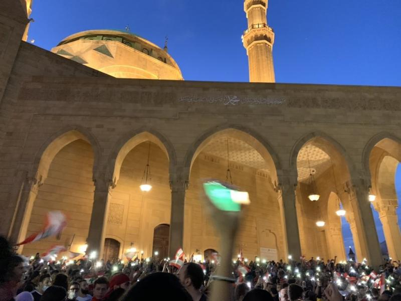صور من مظاهرات #لبنان #لبنان_ينتفض - صورة 15