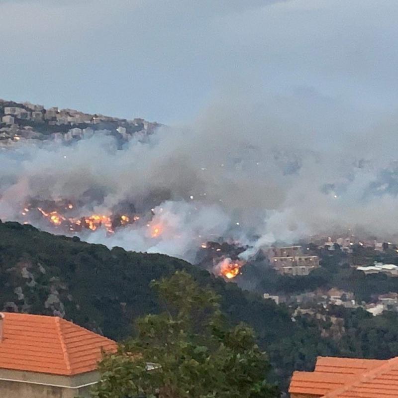 #حرائق في غابات #لبنان #لبنان_يحترق - صورة 9