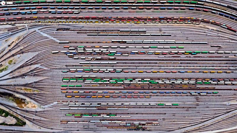 Amazing #Satellite Photos from the #World - Inman Yard, Atlanta, #Georgia , #United_States - Image 38