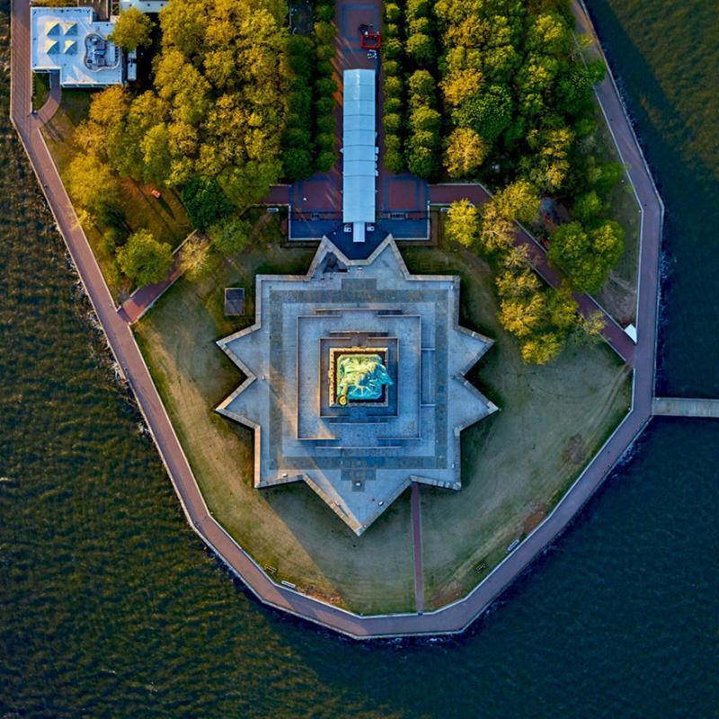 Amazing #Satellite Photos from the #World - Statue Of Liberty, #NewYork City, #United_States - Image 79