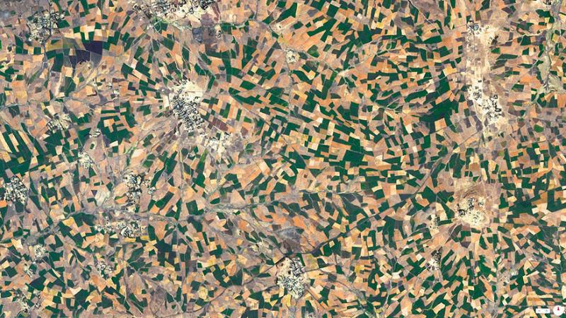 Amazing #Satellite Photos from the #World - Agricultural Development, Addis Ababa, #Ethiopia - Image 11