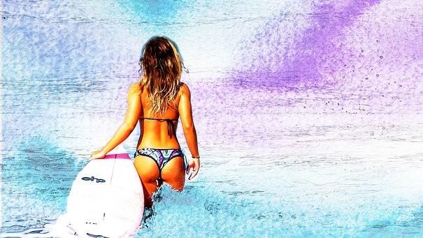Hot #Girls in #Bikini #Models - Image 111