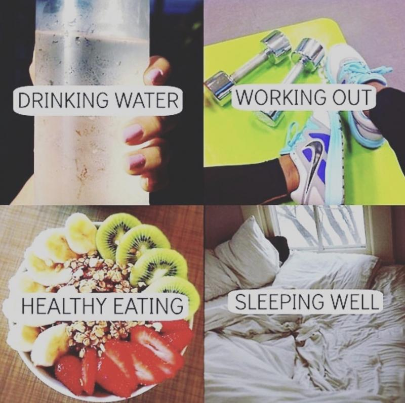 How to stay #healthy