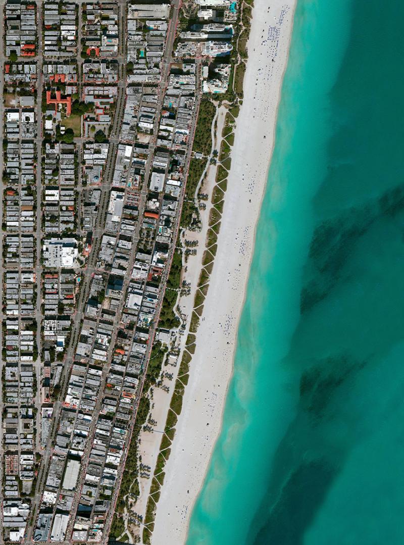 Amazing #Satellite Photos from the #World - Miami Beach, Miami Beach, #Florida , #United_States - Image 49