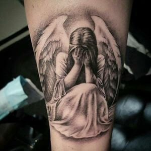 تصاميم #وشوم #وشم #Tattoos على صور ملائكة #فن #ماكياج #بنات - صورة 5