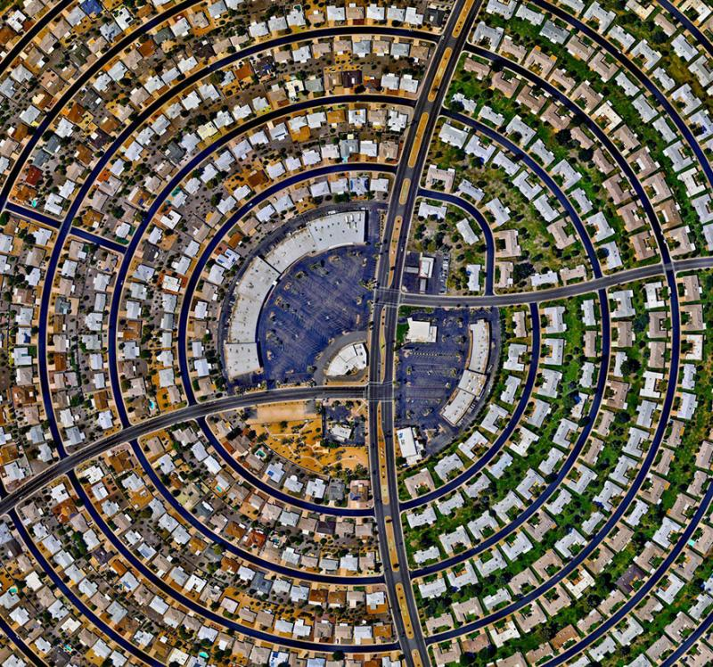 Amazing #Satellite Photos from the #World Sun City, #Arizona , #United_States - Image 96