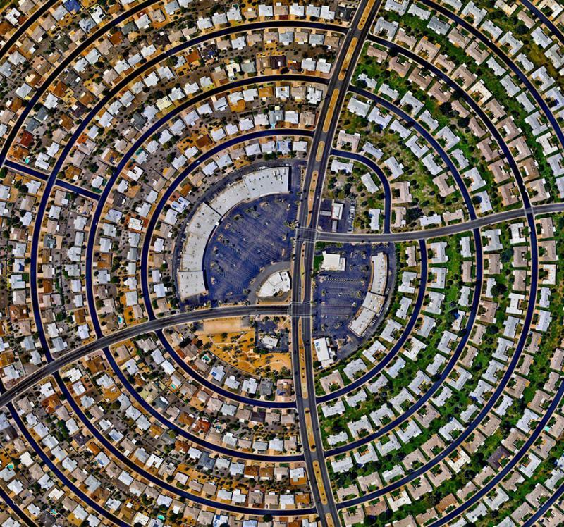Amazing #Satellite Photos from the #World Sun City, #Arizona , #United_States - Image 96
