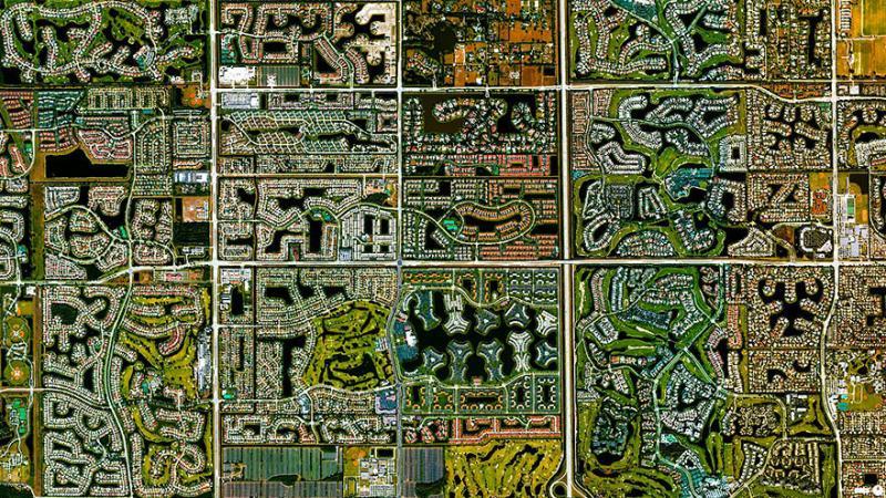 Amazing #Satellite Photos from the #World- Boca Raton, #Florida , #United_States - Image 87
