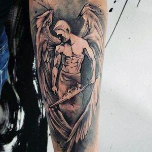 تصاميم #وشوم #وشم #Tattoos على صور ملائكة #فن #ماكياج #بنات - صورة 4
