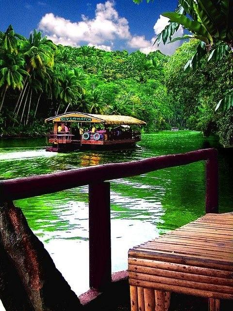 River Trip in #Bohol #philippines