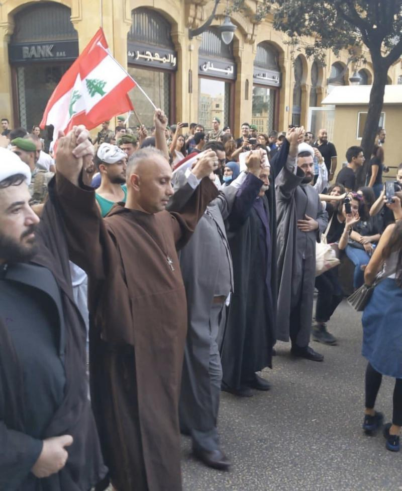 صور من مظاهرات #لبنان #لبنان_ينتفض - صورة 21