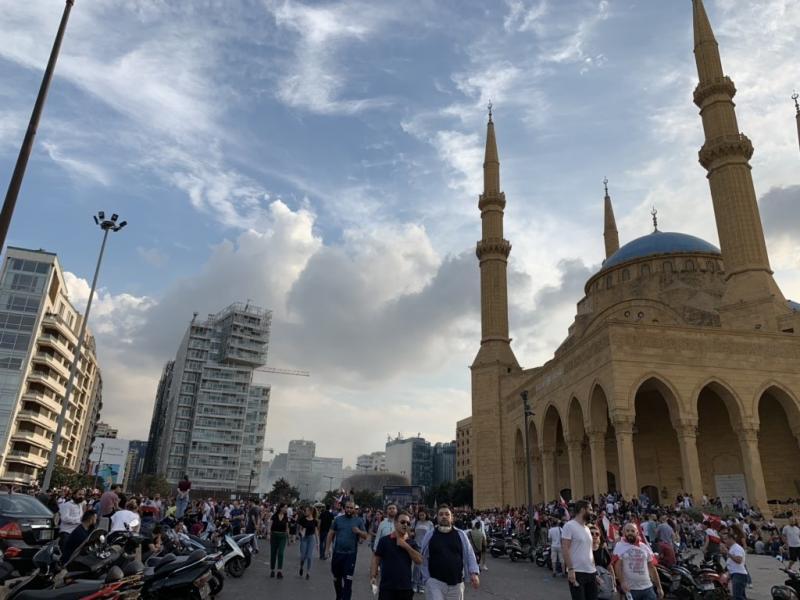 صور من مظاهرات #لبنان #لبنان_ينتفض - صورة 13