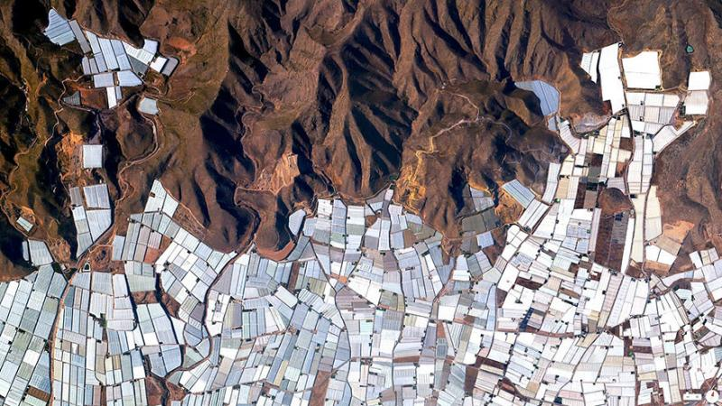 Amazing #Satellite Photos from the #World - Plasticulture / Greenhouses, #Almeria , #Spain - Image 50