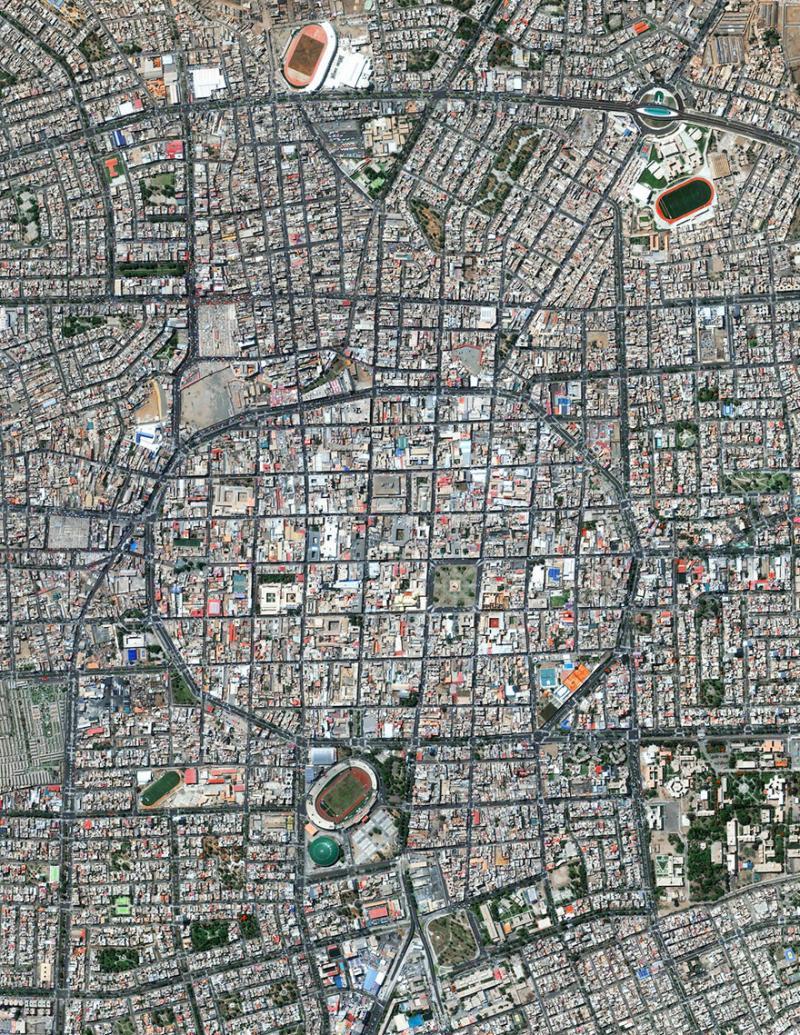 Amazing #Satellite Photos from the #World Trujillo, #Peru - Image 43