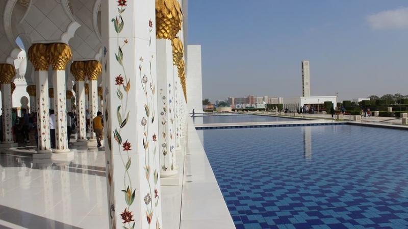 صور #مسجد #الشيخ_زايد في #أبوظبي #الإمارات - صورة 3