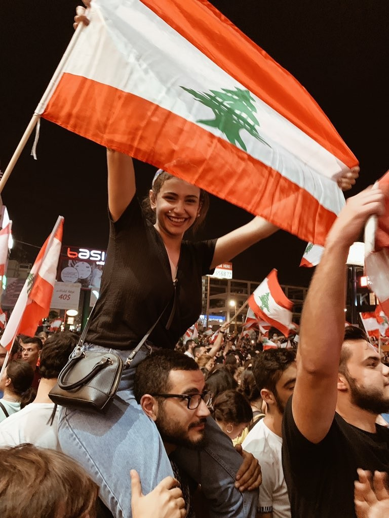 صور من مظاهرات #لبنان #لبنان_ينتفض - صورة 26