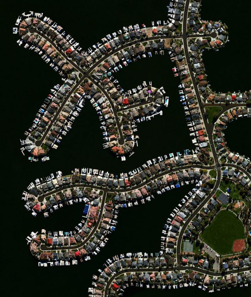 Amazing #Satellite Photos from the #World Discovery Bay Discovery Bay, #California , #United_States - Image 36