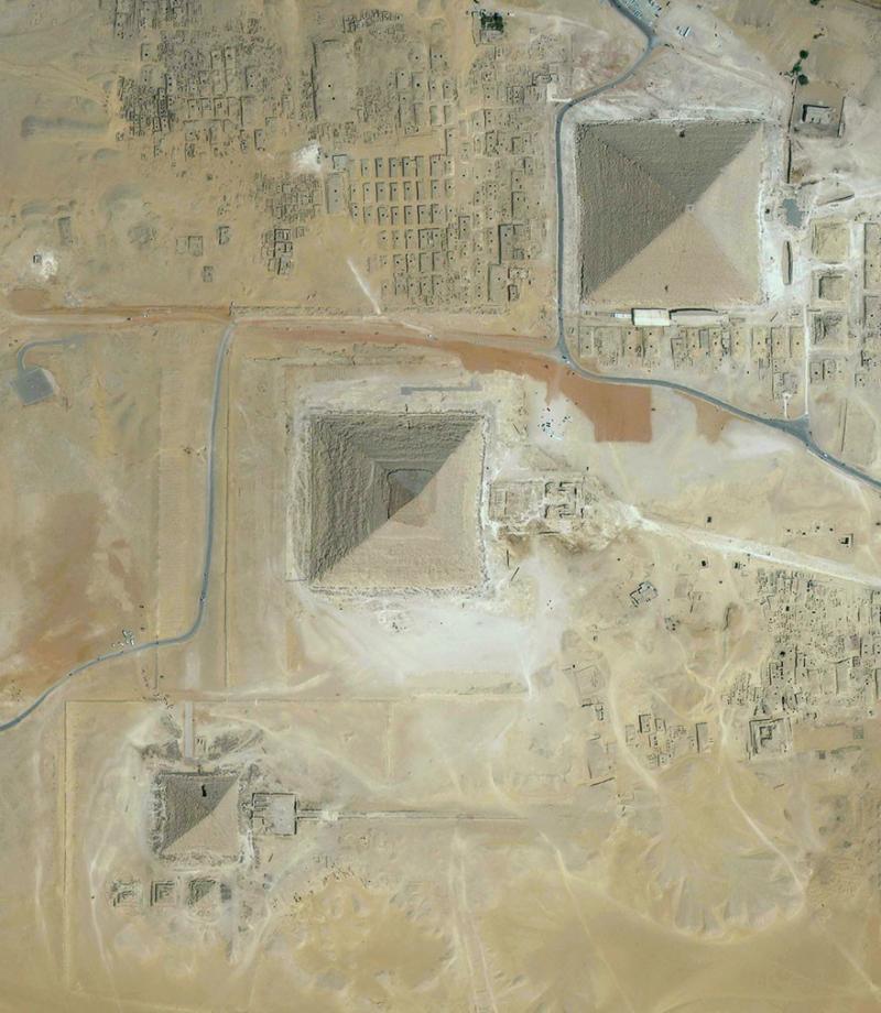 Amazing #Satellite Photos from the #World - #Cairo , #Egypt - Image 68