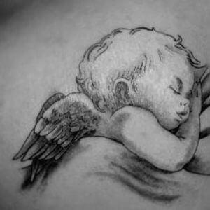 تصاميم #وشوم #وشم #Tattoos على صور ملائكة #فن #ماكياج #بنات - صورة 8