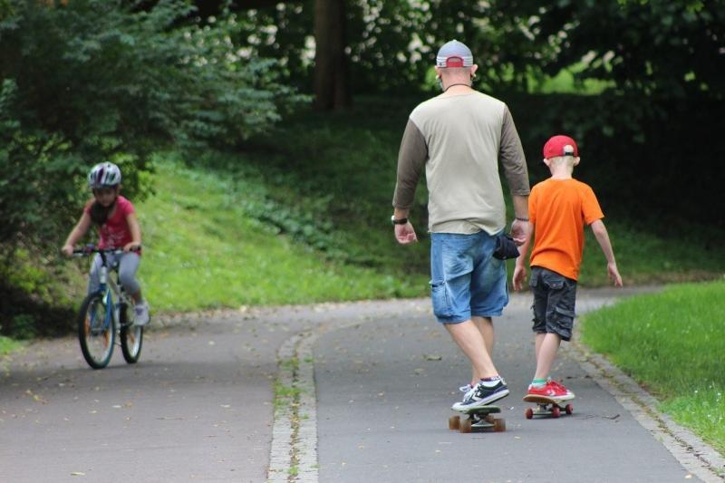 صور لـ #مرح #لوح_تزلج #اشخاص #عائلة #دراجة_هوائية #في_الهواء_الطلق #رياضة