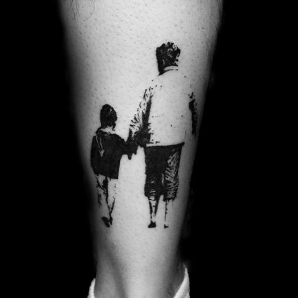 #وشوم #Tattoos منوعة تحمل رموز وعبارات عن #العائلة - 88