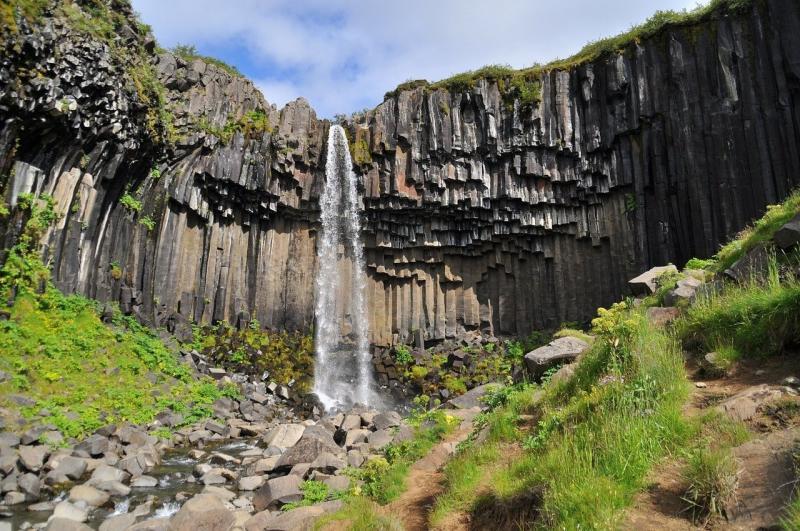 صور لـ #طبيعة #المناظر_الطبيعيه #شلال #أيسلندا