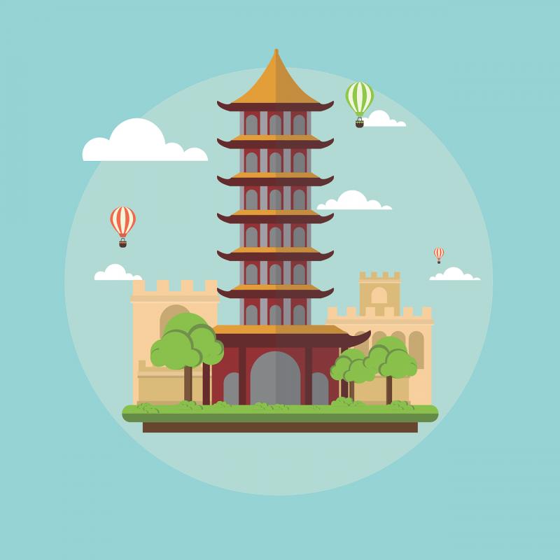 صور تحتوي #معلم_معروف #الصين #صينى #المناظر_الطبيعيه #هندسة_معمارية