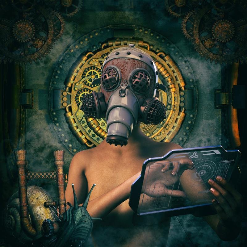 صور لـ #داكن #حلزون #العلماء #الخيال_العلمي #Steampunk