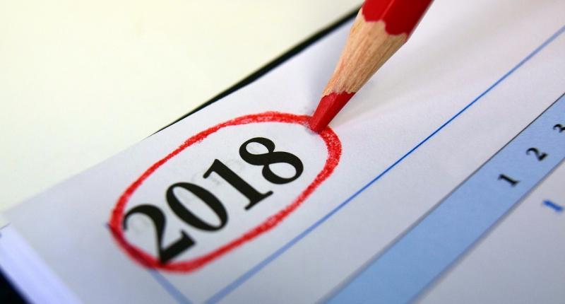 صور تحتوي #2018 #التقويم #مطلع_السنة #رقم #عام