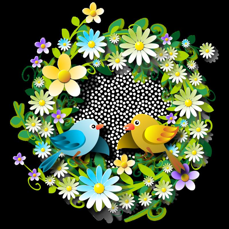 صور تحتوي #زهري #الطيور #منمق #ورقة #الحيوانات #زهور #ربيع