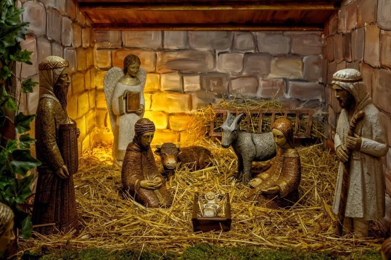 صور تحتوي #كنيسة #دين #ولادة #حضانة #عيد_الميلاد