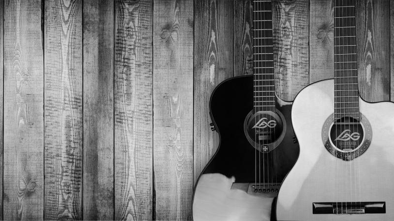 صور تحتوي #موسيقى #أداة #خشب #سلاسل #الناس #غيتار #خيط
