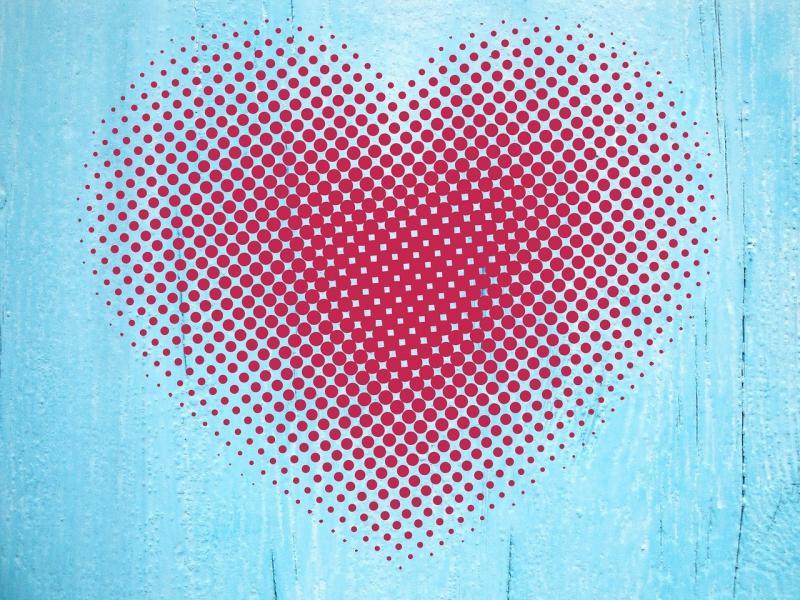 صور تحتوي #حب #جريد #نقاط #خلفية #قلب