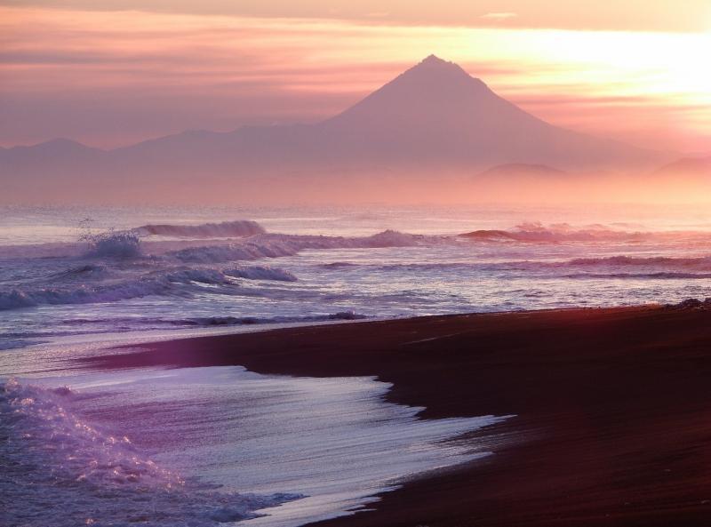 صور تحتوي #إلى_الأمام #غروب_الشمس #شاطئ_بحر #سحاب #رمل #تصفح #موجة #محيط